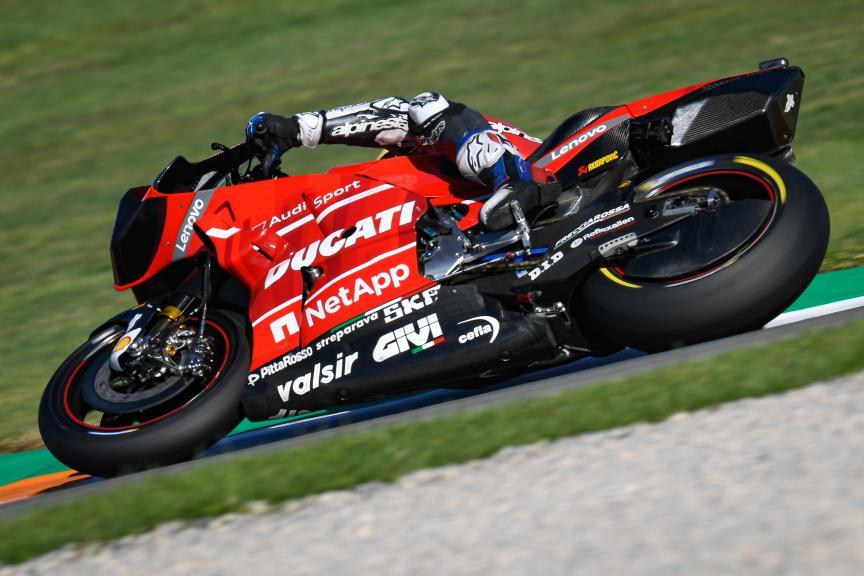 Andrea Dovizioso, Ducati Team, Valencia MotoGP™ Official Test