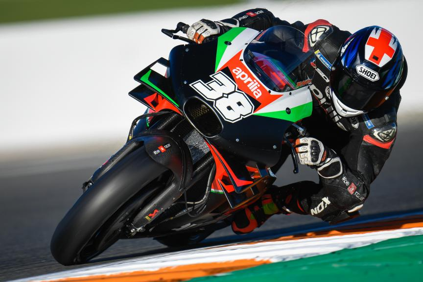 Bradley Smith, Aprilia Racing Team, Valencia MotoGP™ Official Test