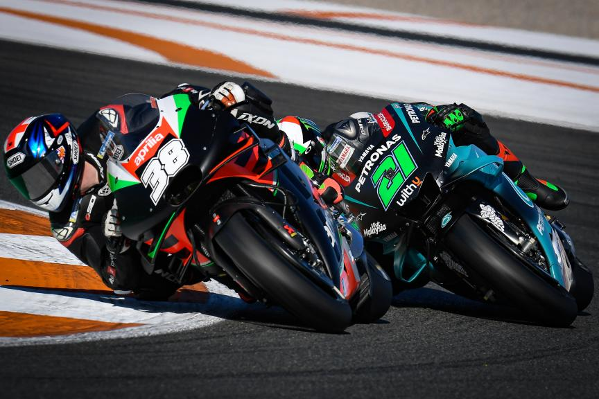 Bradley Smith, Franco Morbidelli, Valencia MotoGP™ Official Test