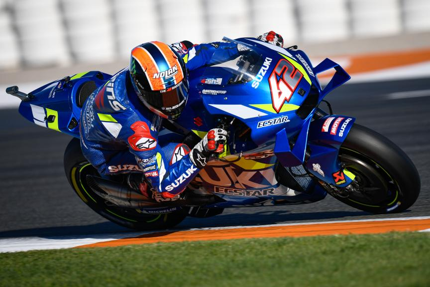 Alex Rins, Team Suzuki Ecstar, Valencia MotoGP™ Official Test