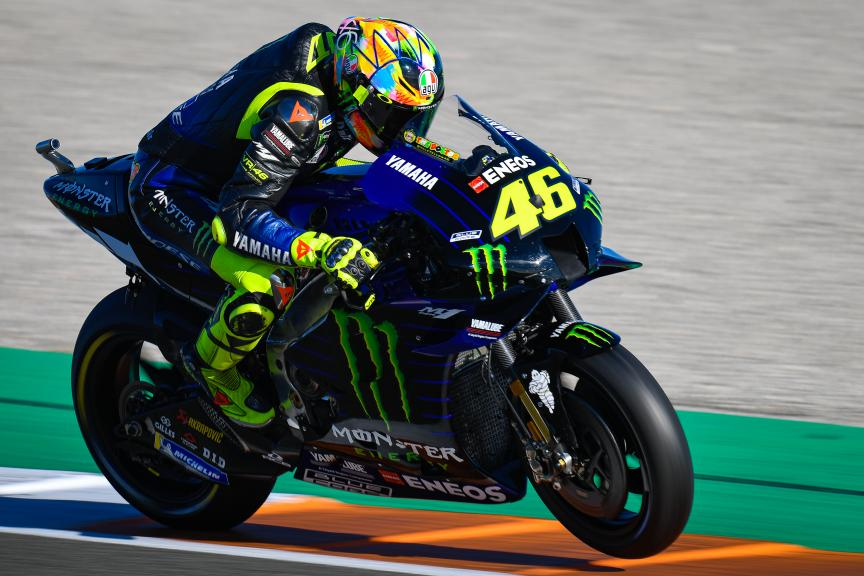 Valentino Rossi, Monster Energy Yamaha MotoGP, Valencia MotoGP™ Official Test