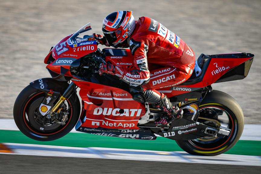 Michel Pirro, Ducati Team, Valencia MotoGP™ Official Test