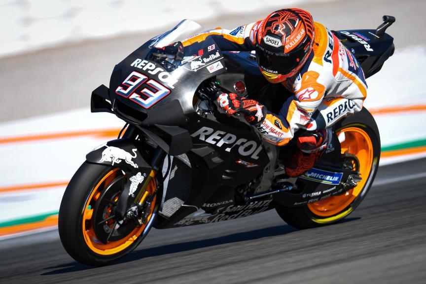 Marc Marquez, LCR Honda, Valencia MotoGP™ Official Test