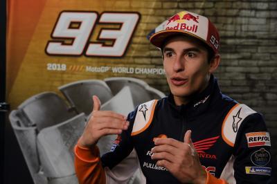 Marc Marquez: 'Non ho fatto pressione né a Honda né ad Alex'