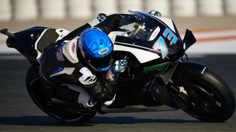 Valencia Test Midday New Year New Bikes Motogp