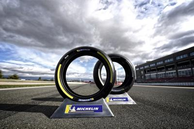 Michelin test 2020 and 2021 tyres in Valencia