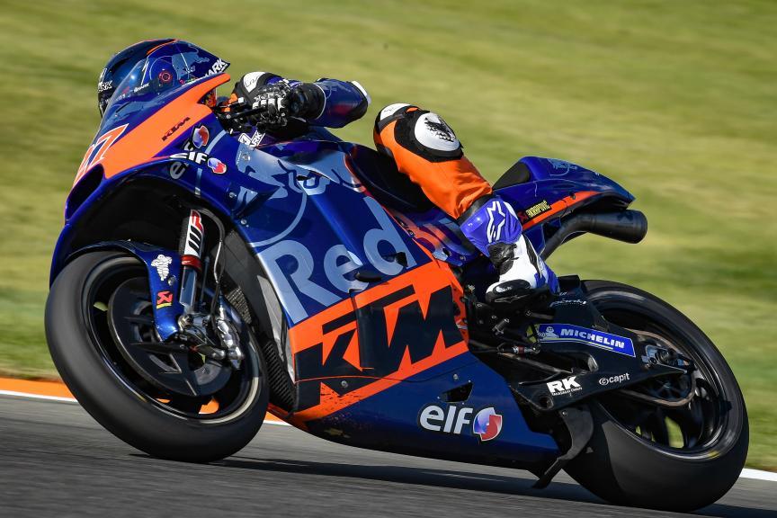 Iker Lecuona, Red Bull KTM Tech 3, Valencia MotoGP™ Official Test