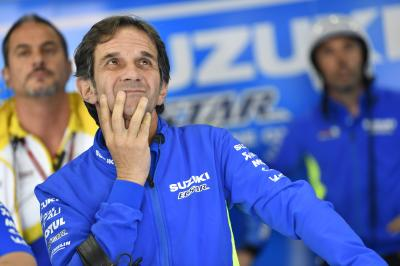 Suzuki's Team Manager gives his thoughts on the new engine