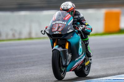 Test Moto2™ / Moto3™ de Jerez : Une première journée arrosée