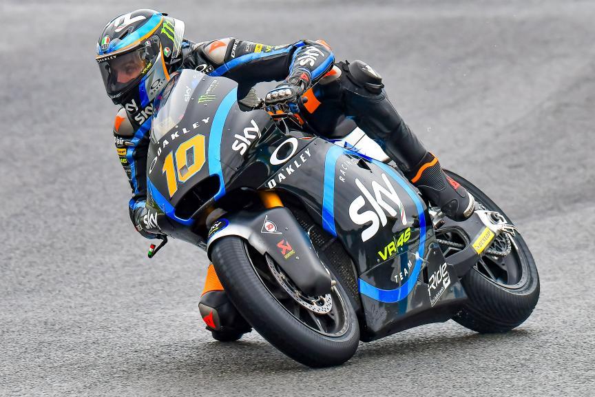 Luca Marini, Sky Racing Team VR46, Moto2 - Moto3 Jerez Test