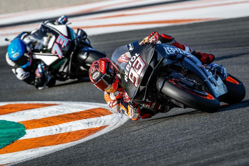 Marc Marquez,Alex Marquez, Valencia MotoGP™ Official Test © Jaime Olivares