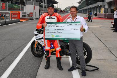 Two Wheels for Life : l'esperienza MotoE™ a Valencia