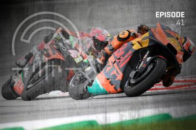 The #MotoGPPodcast, we talk to @AleixEspargaro about racing with his