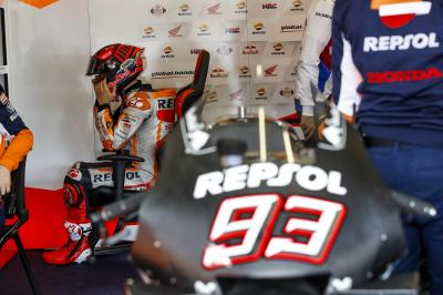 Marc Marquez on the 2020 Honda and the test crash