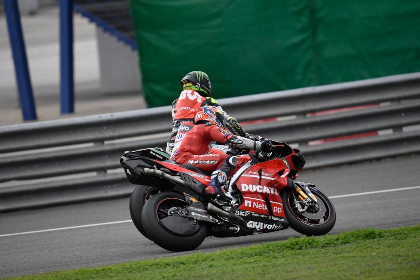Andrea Dovizioso, Cal Crutchlow, Jerez MotoGP™ Official Test