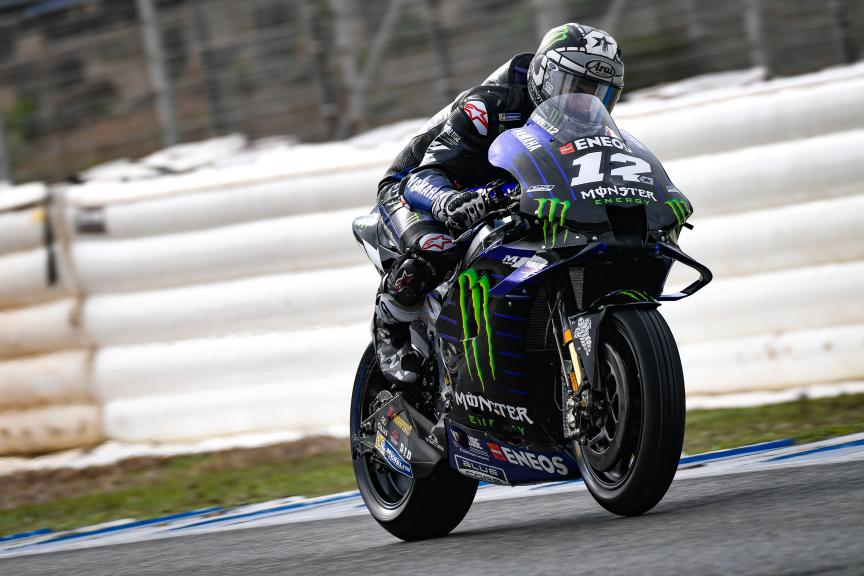 Maverick Viñales, Monster Energy Yamaha MotoGP, Jerez MotoGP™ Official Test