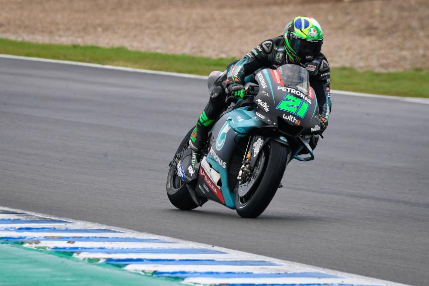 Franco Morbidelli, Petronas Yamaha SRT, Jerez MotoGP™ Official Test