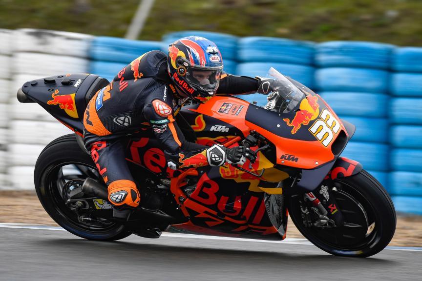 Brad Binder, Red Bull KTM Ajo, Jerez MotoGP™ Official Test