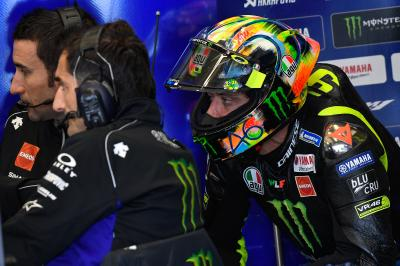 What did Rossi manage to test on Day 2 in Jerez?