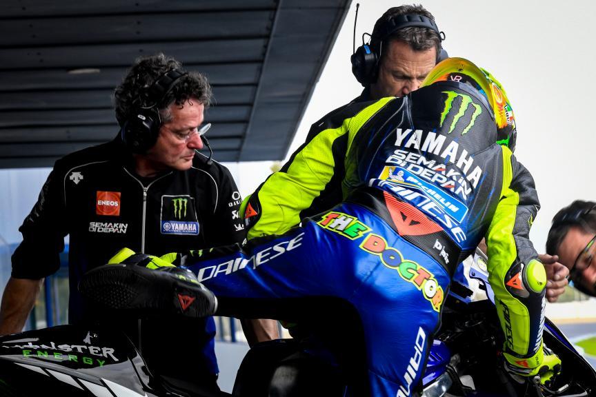 Valentino Rossi, Monster Energy Yamaha MotoGP, Jerez MotoGP™ Official Test