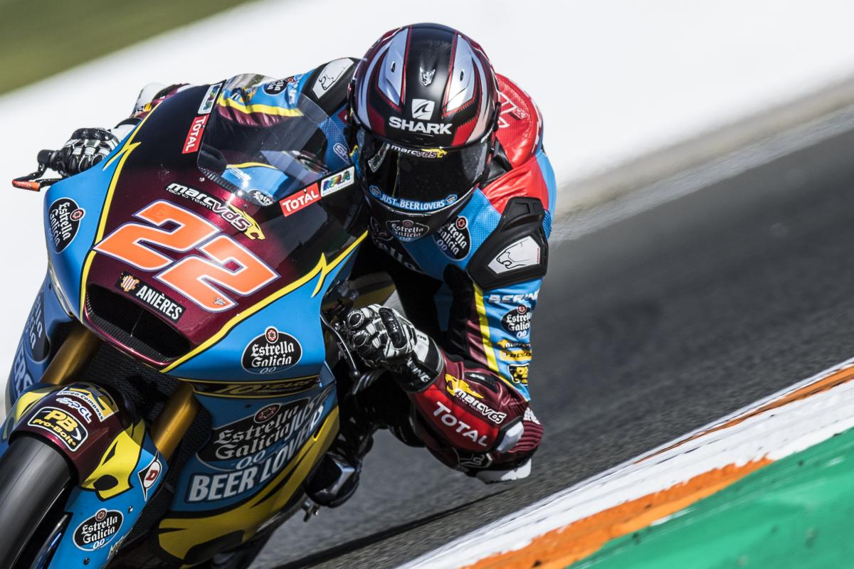More Laps Complete For Moto2 Moto3 Riders In Valencia Motogp