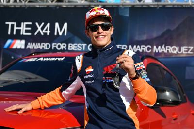 Marquez wins the BMW M Award for seventh time