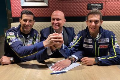 Cardelus in MotoE™ con Avintia Esponsorama Racing