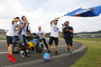 Unseen: the day Alex Marquez became Moto2™ World Champion
