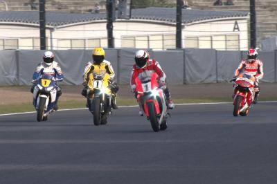 Wayne Rainey rides for the first time in 26 years at Suzuka
