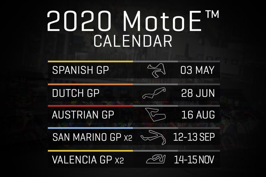 Calendar 2020 MotoE en