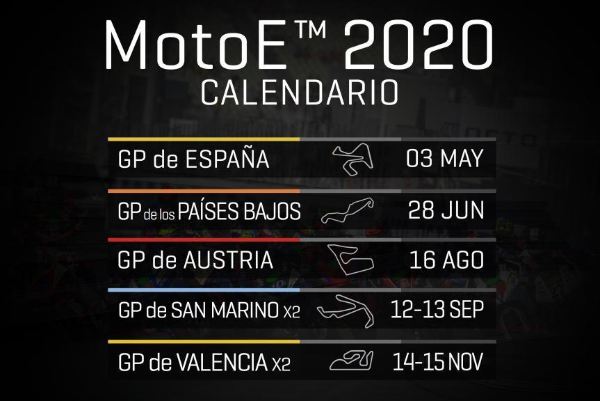 Calendar 2020 MotoE es