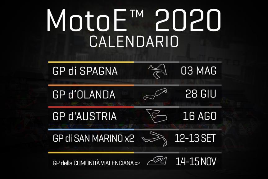 Calendar 2020 MotoE it