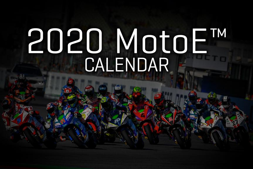 Calendar 2020 MotoE COVER