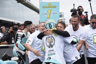 A conversation with a Moto3™ World Champion: Dalla Porta
