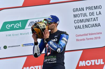 A conversation with a MotoE™ World Champion: Matteo Ferrari