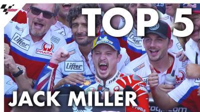 Les cinq meilleurs moments de la saison de Miller.