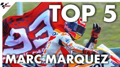 Les cinq meilleurs moments de la saison de Márquez