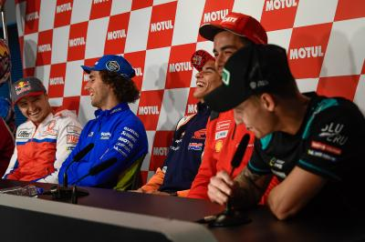 The funniest and sillest from the MotoGP™ Press Conferences