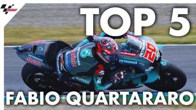 Les cinq meilleurs moments de la saison de Quartararo