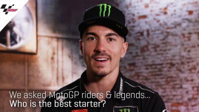 ¿A quién se le dan mejor las salidas en MotoGP™?