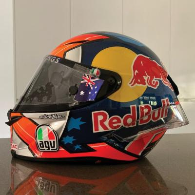 I've put my 2018 helmet up for auction to raise