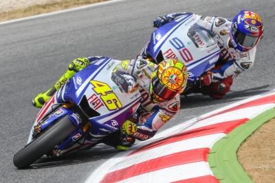 Catalunya 2009: Le duel historique entre Rossi et Lorenzo