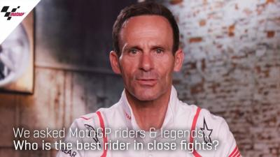 Who is the best rider in close fights?