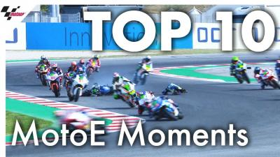 Top 10 Electrifying Moments from MotoE