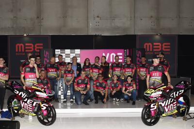 Snipers Team unveil 2020 Moto3™ livery in Verona