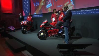 Watch the Ducati Team 2020 presentation in full