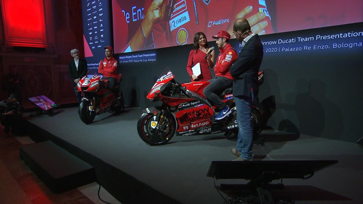Watch the Ducati Team 2020 presentation in full