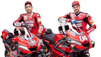 Ducati Team Unveil 2020 Bikes Motogp