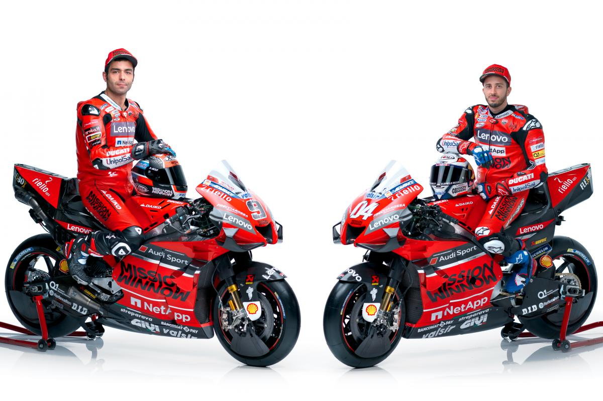 Ducati Team unveil 2020 bikes