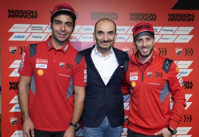 All of the highlights from Ducati Team's 2020 launch